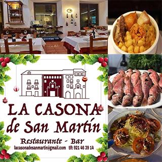 Restaurante La Casona de San Martín